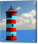 Lighthouse On The Sea Acrylic Print