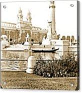 Louisiana Monument, 1904 World's Fair Acrylic Print