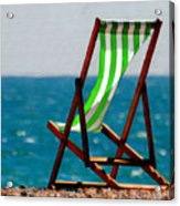 Lounging In Long Beach Acrylic Print