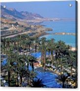 Luxury Resort On The Dead Sea Acrylic Print