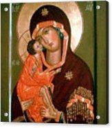 Madonna Religious Art Acrylic Print