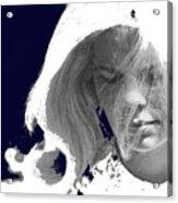 Margie In Repose Tucson Arizona 1969-2012 Acrylic Print