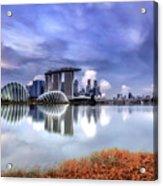 Marina Bay Acrylic Print