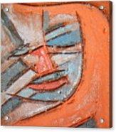 Mask - Tile Acrylic Print
