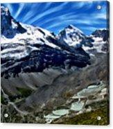 Matterhorn Panorama Acrylic Print