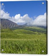 Maui Haleakala Crater Acrylic Print