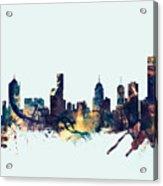 Melbourne Skyline Acrylic Print
