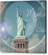 Memorial Day Acrylic Print