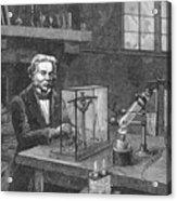 Michael Faraday (1791-1867) Acrylic Print by Granger