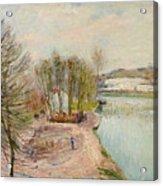 Moret-sur-loing Acrylic Print