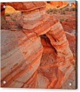 Morning Comes To Valley Of Fire Acrylic Print