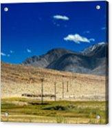 Mountains Of Leh Ladakh Jammu And Kashmir India Acrylic Print