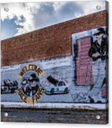 Mural - Downtown Bristol Tennessee/virginia Acrylic Print