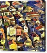Nafplio Town Acrylic Print