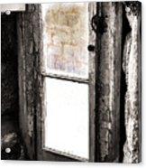 Narrow Prison Escape  Acrylic Print