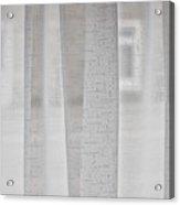 Net Curtain Acrylic Print