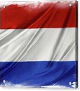 Netherlands Flag Acrylic Print