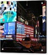 New York City Times Square Acrylic Print