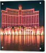 November 2017 Las Vegas Nevada - Scenes Around Bellagio Resort H Acrylic Print
