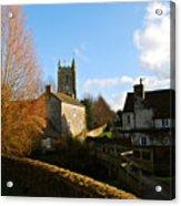 Nunney Church Acrylic Print