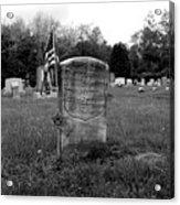 Odd Fellows Cemetery Acrylic Print