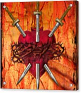 3 Of Swords Acrylic Print