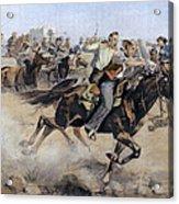Oklahoma Land Rush, 1889 Acrylic Print