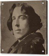Oscar Wilde 2 Acrylic Print
