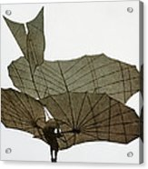 Otto Lilienthal (1848-1896) Acrylic Print