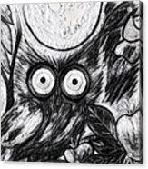 Owl Midnight Acrylic Print