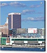 Panoramic View Of Atlantic City, New Jersey Acrylic Print