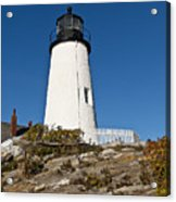 Pemaquid Point Light Acrylic Print