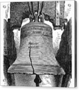 Philadelphia: Liberty Bell Acrylic Print