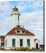 Point Wilson Lighthouse Acrylic Print