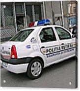 Police Acrylic Print