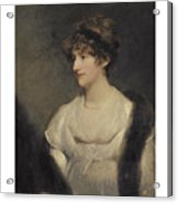 Portrait Of Jane Frere Acrylic Print
