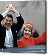 President Ronald Reagan And First Lady Acrylic Print