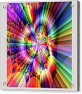 Rainbow Light Acrylic Print