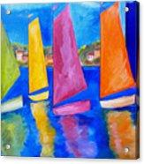 Reflections Of Tortola Acrylic Print