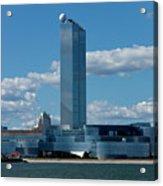 Revel Casino In Atlantic City, New Jersey Acrylic Print