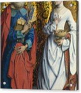 Saints Peter And Dorothy Acrylic Print