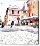 San Felice Circeo Square Acrylic Print
