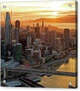 San Francisco Financial District Skyline Acrylic Print