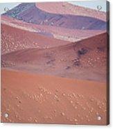 Sand Dune, Sossusvlei, Namib Desert Acrylic Print