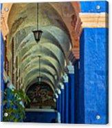 Santa Catalina Convent Arequipa Acrylic Print