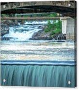 Scenes Around Spokane Washington Downtown Acrylic Print