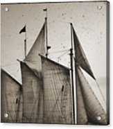 Schooner Pride Tall Ship Charleston Sc Acrylic Print