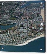 Seagate And Brighton Beach In Brooklyn Aerial Photo Acrylic Print