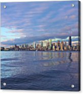 Seattle Skyline Cityscape Acrylic Print