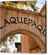 Sedona Tlaquepaque Shopping Center Acrylic Print